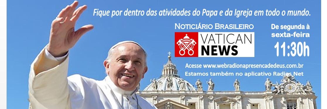 Noticiario brasileiro Vatican News 2