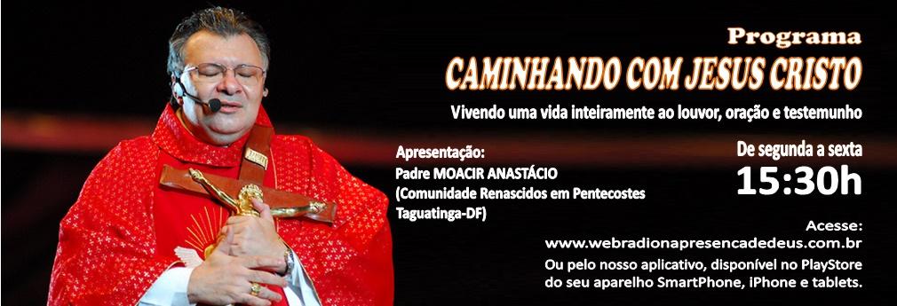 Chamada site – CAMINHANDO COM JESUS CRISTO